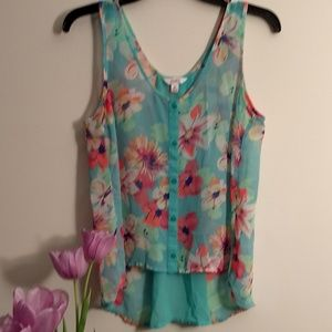 Floral Summer Candie's Top